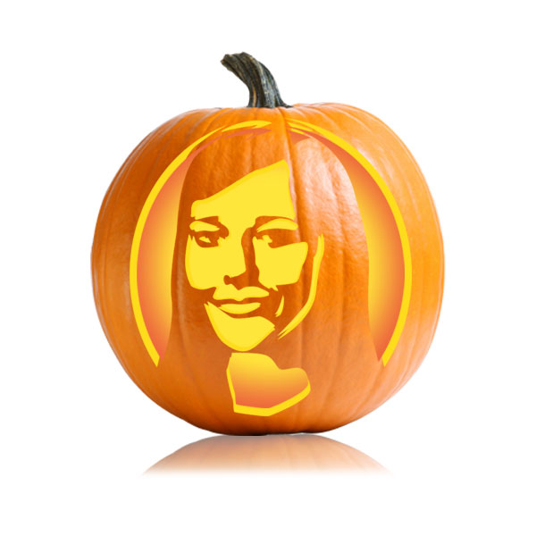Karen Filipelli Pumpkin Stencil