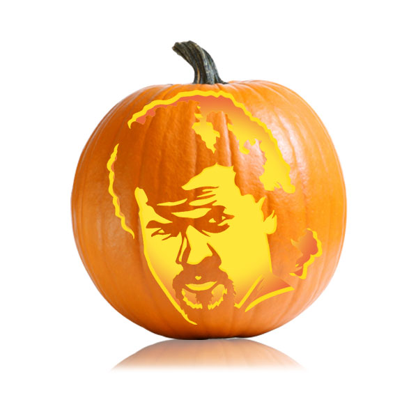 Kenny Powers Pumpkin Pattern