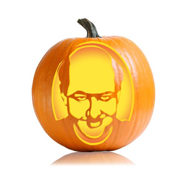 Kevin Malone Pumpkin Stencil