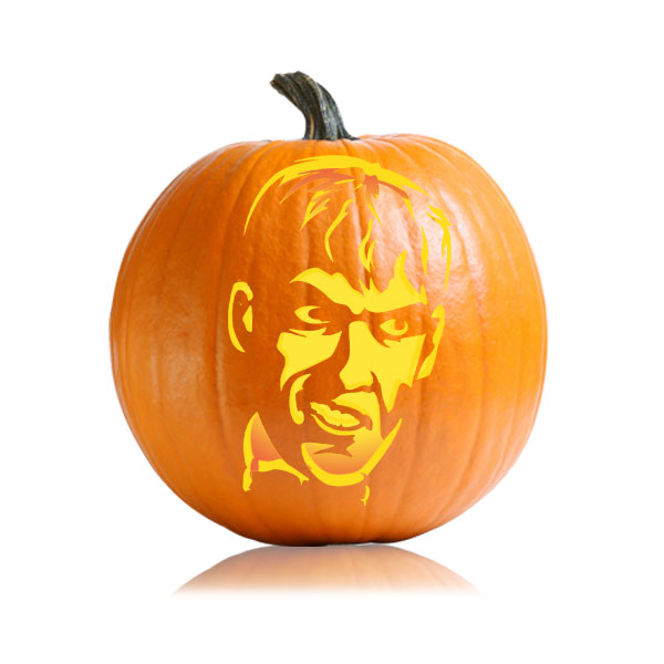 Lurch Pumpkin Carving Pattern