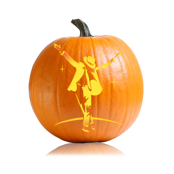 Michael Jackson Moonwalker Pumpkin Pattern