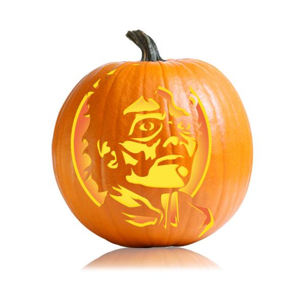 Michael Jackson Zombie Pumpkin Stencil