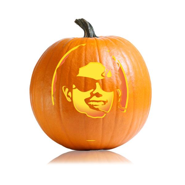Michael Jackson Pumpkin Stencil