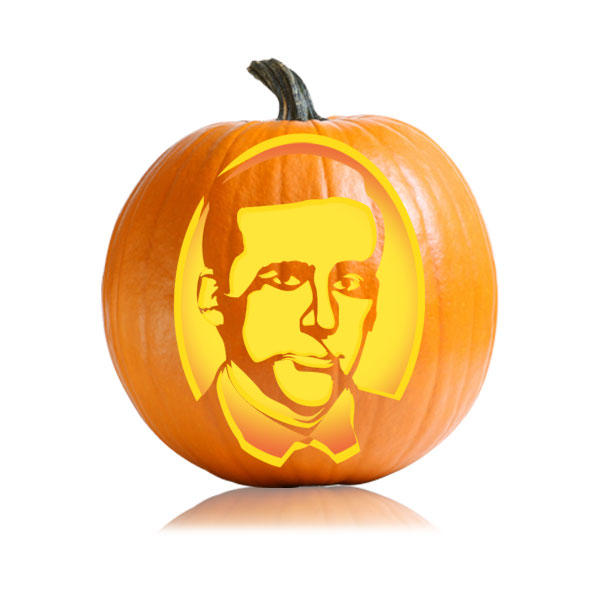 Michael Scott Pumpkin Stencil