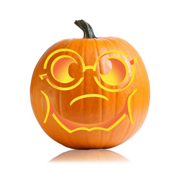 Nerdy JackoLantern Pumpkin Pattern