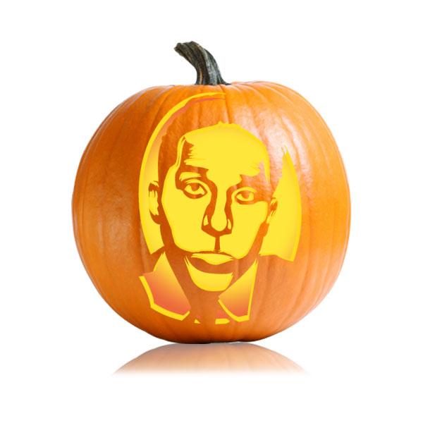 Oscar Martinez Pumpkin Stencil