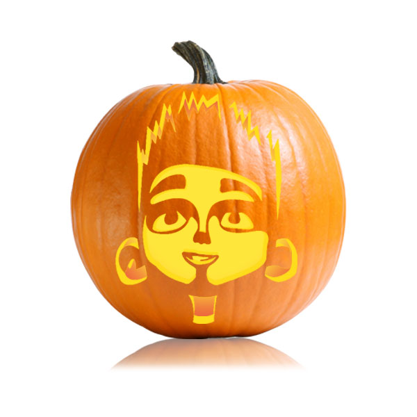 Paranorman Pumpkin Carving Pattern