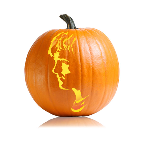Peeta Hunger Games Pumpkin Pattern