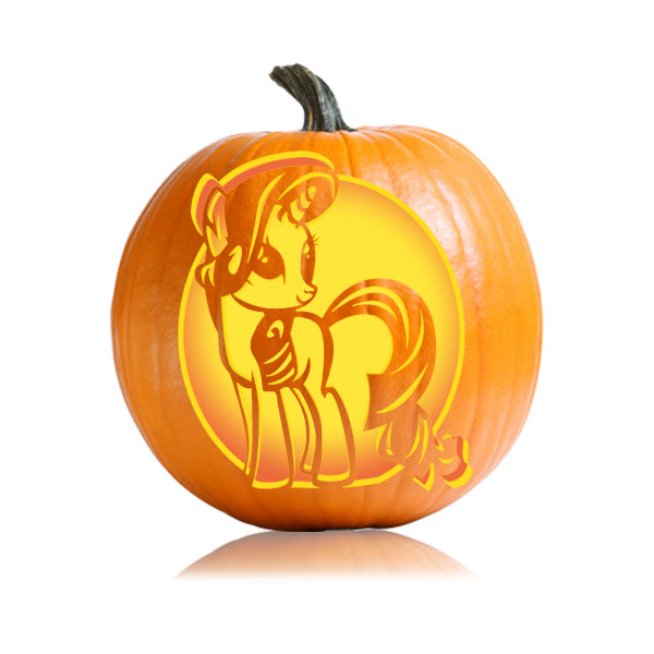 Rarity pumpkin stencil ultimate stencils