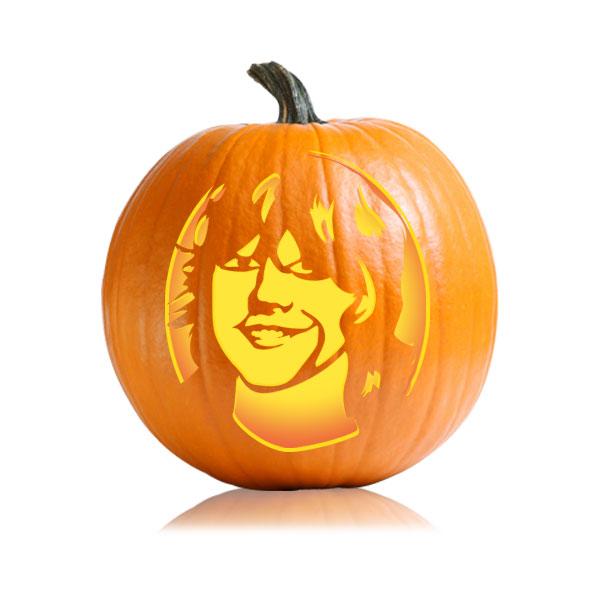 Ron Weasley Pumpkin Stencil