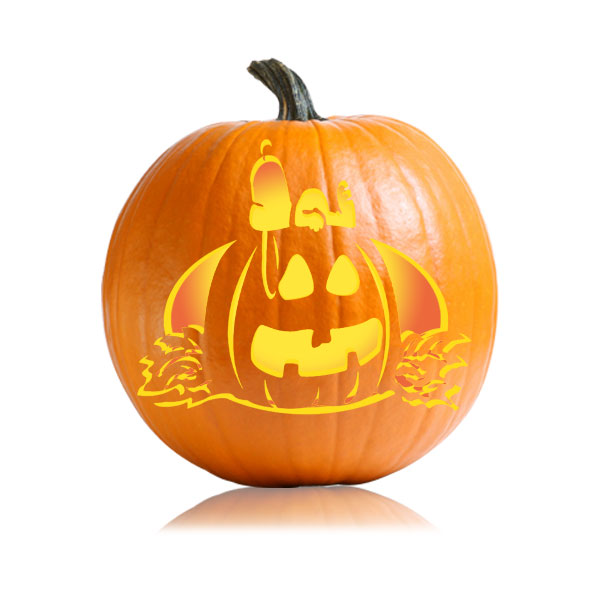 Snoopy Halloween Pumpkin Pattern