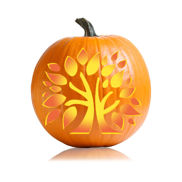 Thanksgiving Tree Pumpkin Pattern