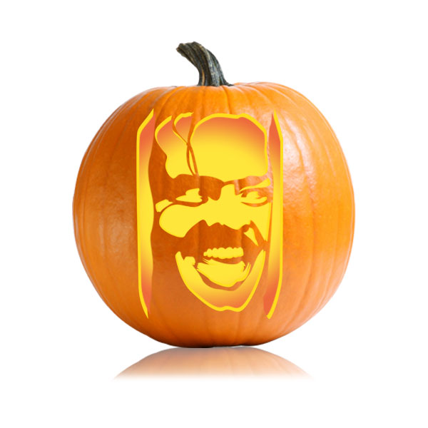 jack nicholson the shining ultimate pumpkin stencils rh ultimate pumpkin stencils com