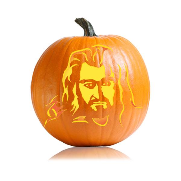 Thorin Pumpkin Pattern
