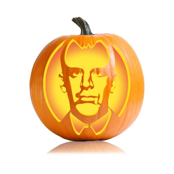 Toby Flenderson Pumpkin Stencil