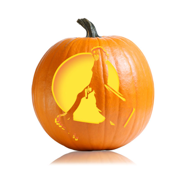 Underworld Pumpkin Carving Stencil