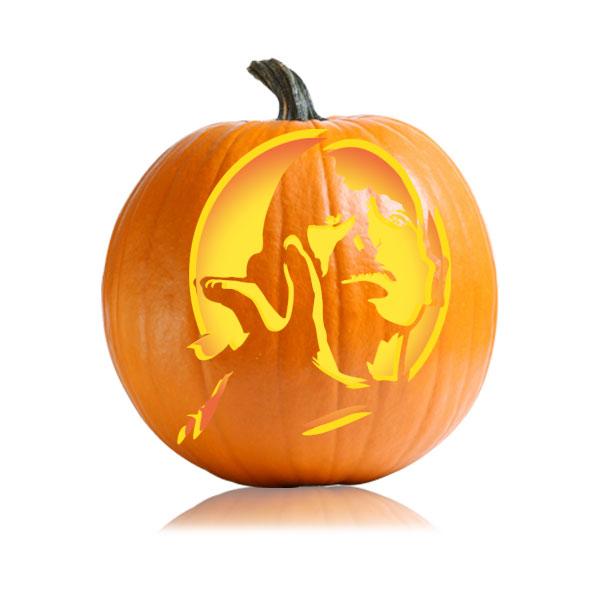 Voldemort Pumpkin Stencil