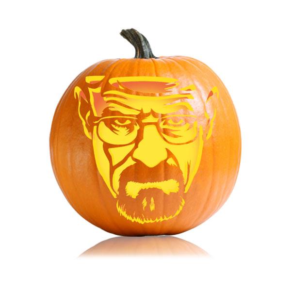 Walter White Breaking Bad Pumpkin Pattern