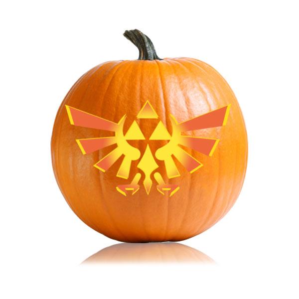 Zelda Pumpkin Carving Stencil