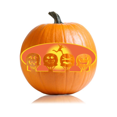 Amy Schumer Pumpkin Carving Stencil Ultimate Pumpkin