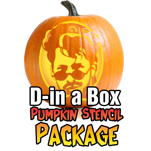 Andy Samberg and Justin Timberlake – D**k in a Box Pumpkin Stencil
