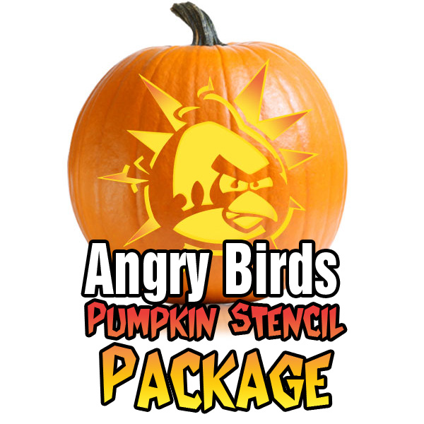 Angry Birds Stencil Package