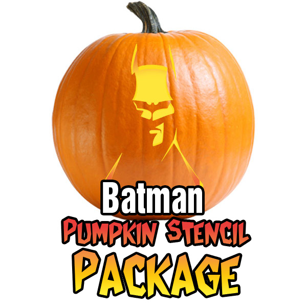 Batman Pumpkin Carving Package Ultimate Pumpkin Stencils