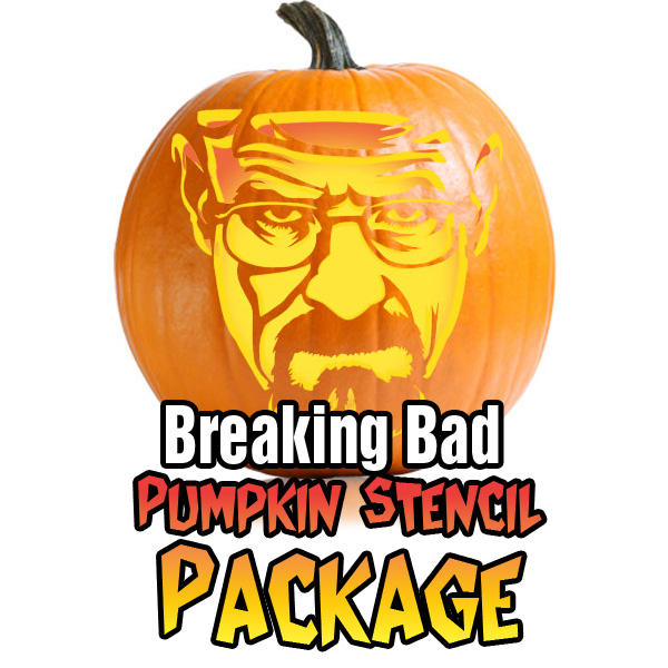 Breaking Bad Pumpkin Carving Package