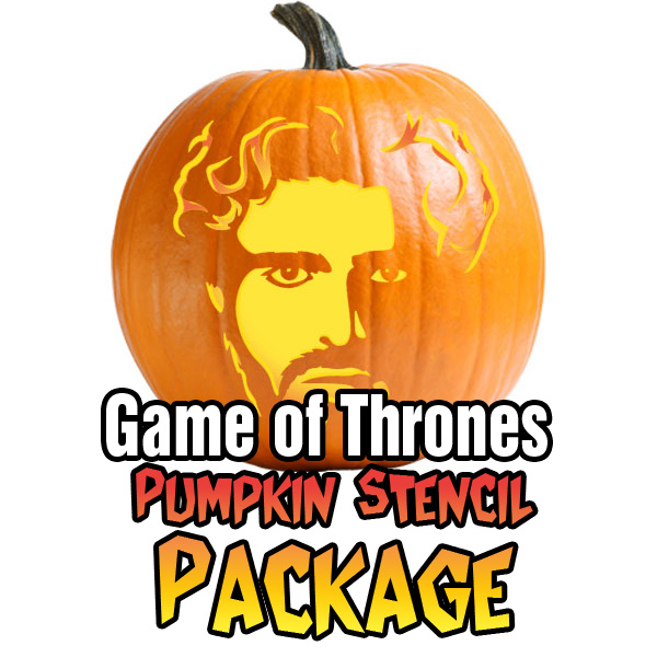 Game of Thrones Men Pumpkin Patterns