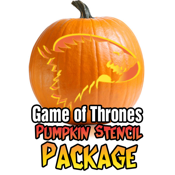 Game of thrones pumpkin pattern packages ultimate