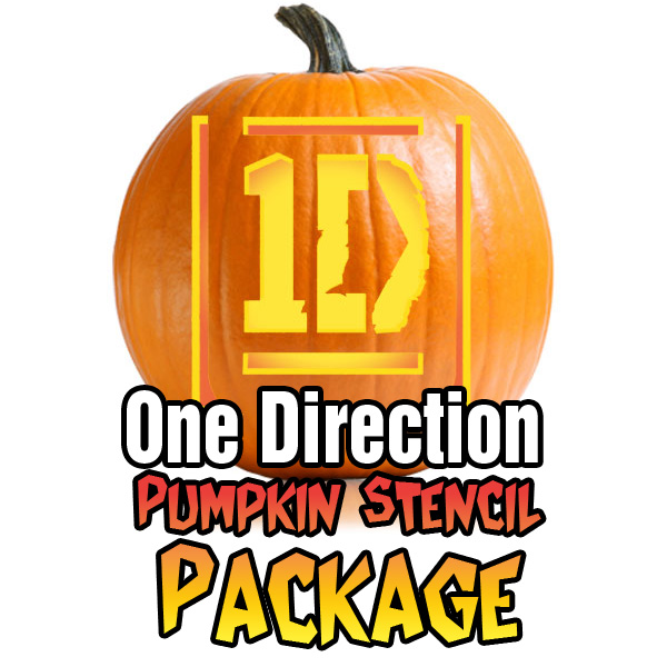 one direction pumpkin carving patterns package