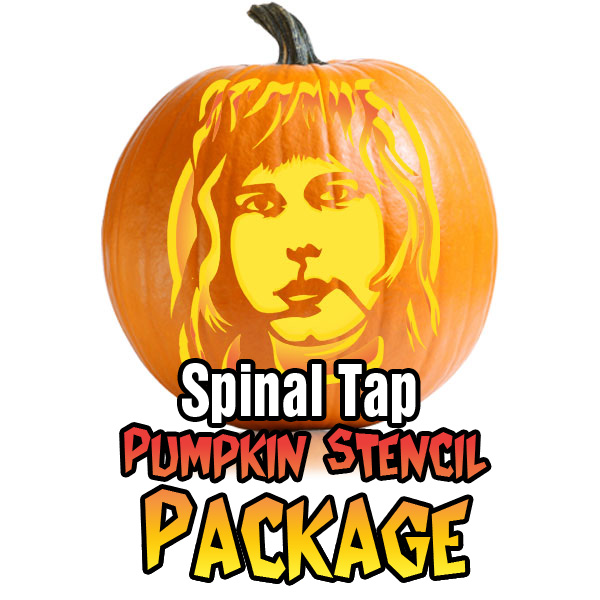 Spinal Tap Pumpkin Stencil Package