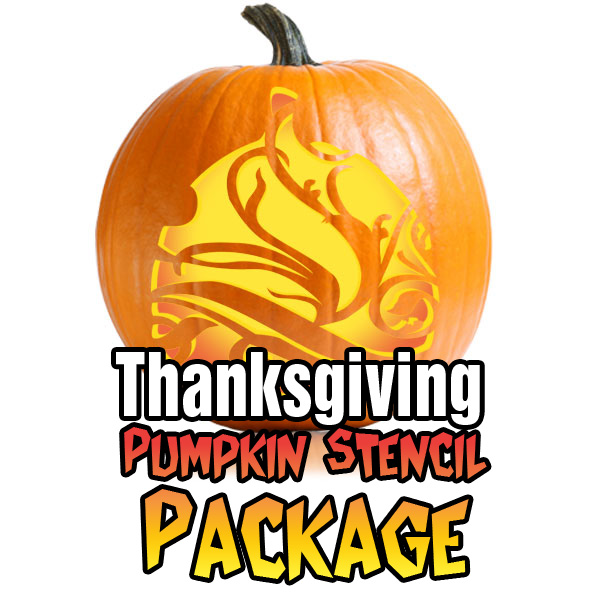 Thanksgiving decora pumpkin stencil package ultimate