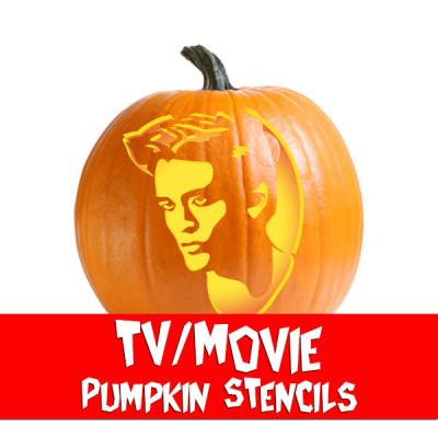 Scary Pumpkin Stencils Pumpkin Face Patterns