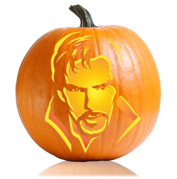 Doctor Strange Pumpkin Stencil