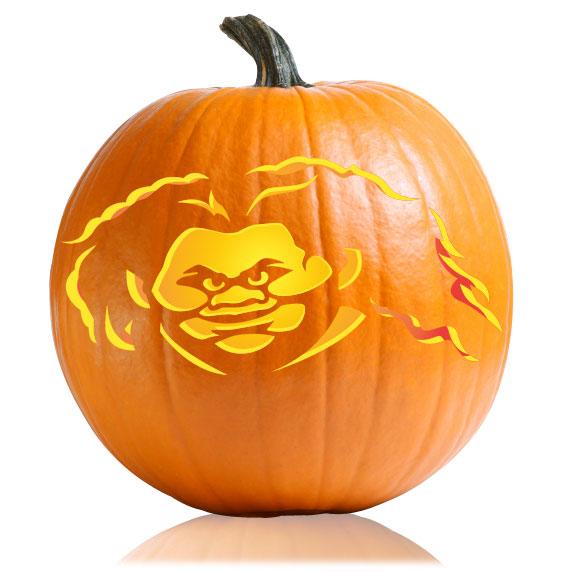 Maui Pumpkin Stencil