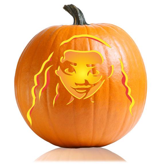 Moana pumpkin stencil ultimate stencils