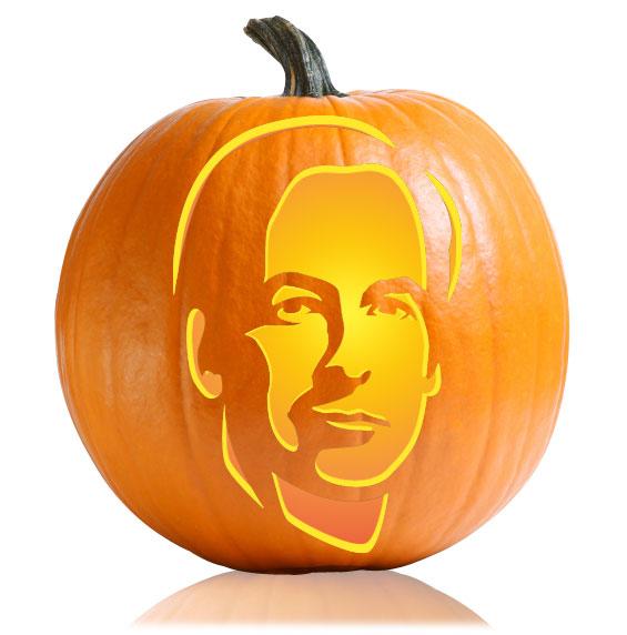 Saul Goodman Pumpkin Stencil