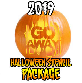 2019 Ultimate Halloween Stencil Package