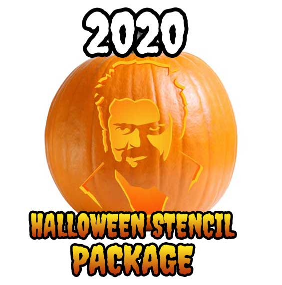 2020 Ultimate Halloween Stencil Package