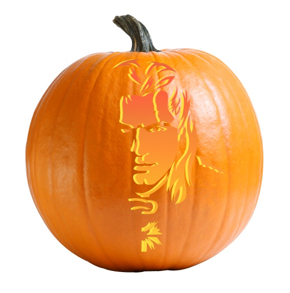 The Witcher - Geralt of Rivia Pumpkin Carving Stencil
