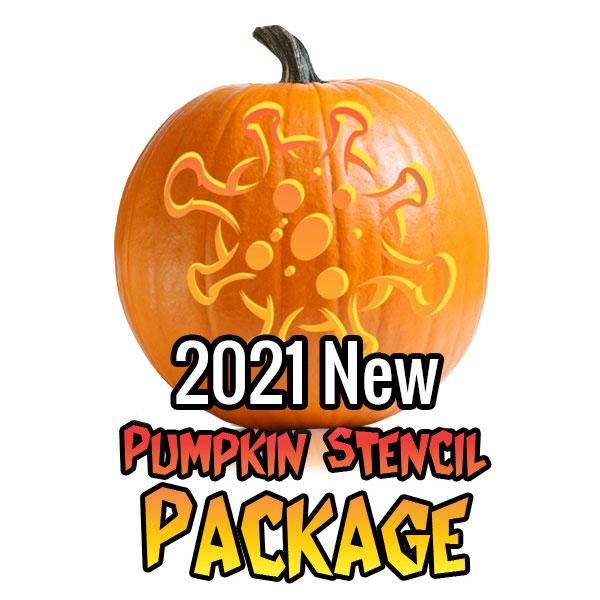 2021 Ultimate Halloween Stencil Package